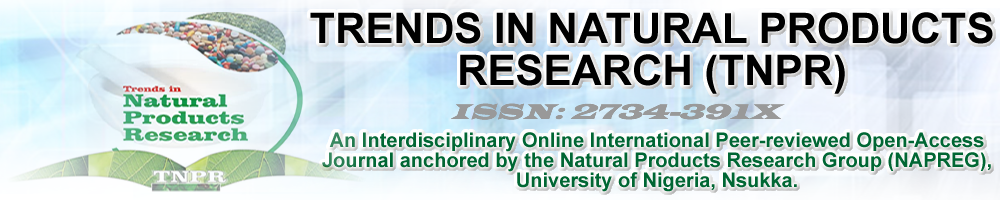TRENDS IN NATURAL PRODUCTS RESEARCH Logo